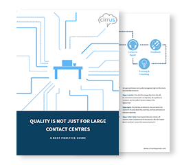 Quality In Contact Centres