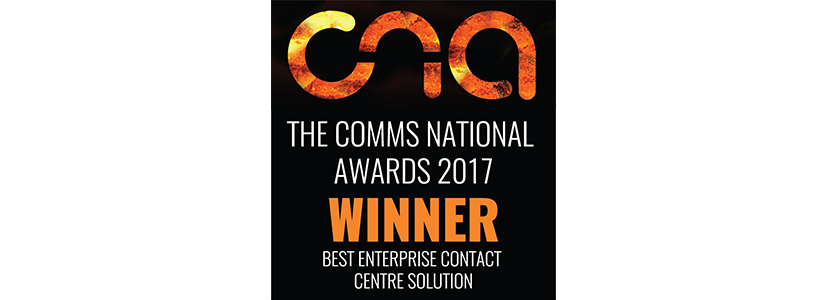 Cirrus wins Best Enterprise Contact Centre Solution at the Comms National Awards